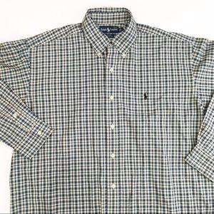 Ralph Lauren cotton long sleeve button down